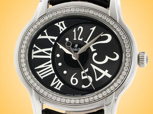 Audemars Piguet Millenary Automatic Stainless Steel / Diamonds Ladies Watch 77301ST.ZZ.D002CR.01