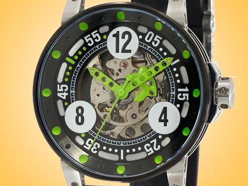 B.R.M Sport Automatic Black PVD-coated Stainless Steel Men's Watch V6-44-SPORT-AV