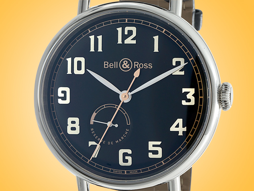 Bell & Ross Vintage WW1 Men's Automatic Stainless Steel Watch WW197-HER-ST/SCR