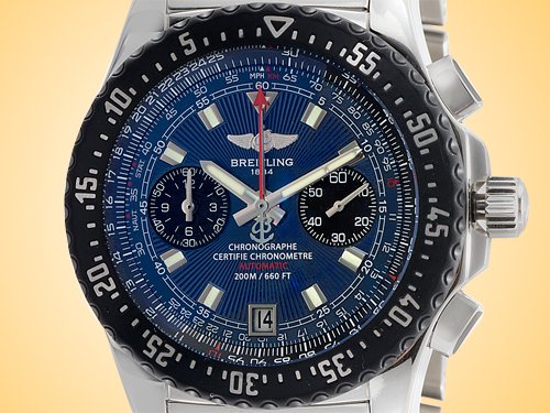 Breitling Skyracer Raven Automatic Chronograph Stainless Steel Men's Watch A2736423/C804-SS