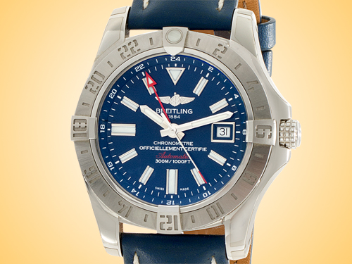 Breitling Avenger II GMT Automatic Stainless Steel Men's Watch A3239011/C872-105X
