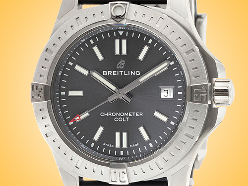Breitling Colt 41 Automatic Stainless Steel Men's Watch A17313101F1S1