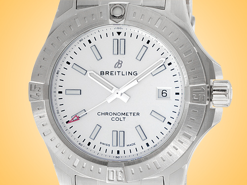 Breitling Colt 41 Automatic Stainless Steel Men's Watch A17313101G1A1
