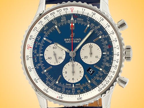 Breitling Navitimer 1 B01 Automatic Chronograph Stainless Steel Men's Watch AB0127211C1P1