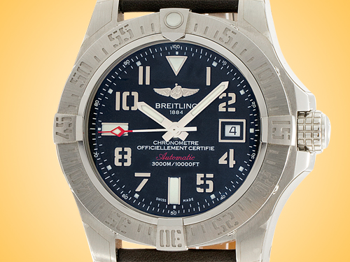 Breitling Avenger II Seawolf Automatic Stainless Steel Men's Watch A1733110/BC31-436X