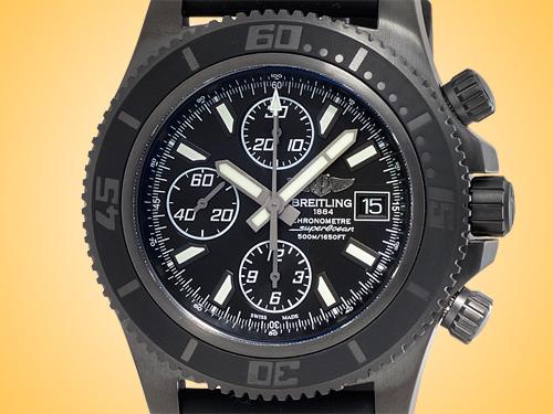 Breitling Superocean Automatic Chronograph II Blacksteel Men's Watch M13341B7/BD11-152S