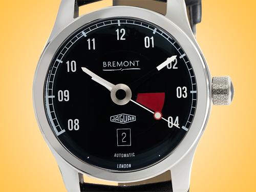 Bremont Jaguar MKIII Automatic Stainless Steel Men's Watch BJ-III/BK/R