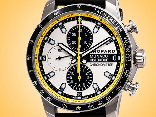 Chopard Grand Prix de Monaco Automatic Titanium Chronograph Men's Watch 168570-3001