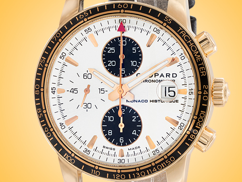 Chopard Grand Prix de Monaco Historique Automatic Chronograph 18K Rose Gold Men's Watch 161275-5001