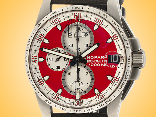 Chopard Mille Miglia Gran Turismo Limited Edition Titanium Automatic Chronograph Men's Watch 168459-3036