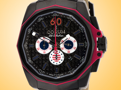 Corum Admiral's Cup AC-One 45 Americas USA Automatic Mechanical Chronograph Men's Watch 132-211-95-0F01-ANUS