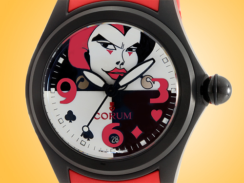 Corum Bubble Joker 47 mm Automatic Limited-edition PVD-coated Stainless Steel Watch L082/03531