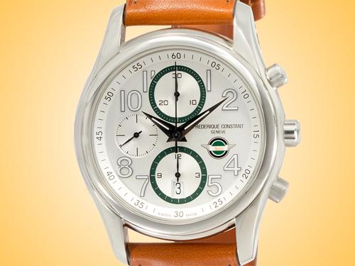 Frédérique Constant Healey Automatic Chronograph Stainless Steel Men's Watch FC-392HSDG6B6