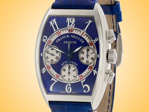 Franck Muller Automatic Chronograph Stainless Steel Watch Men's 7850 CC AT