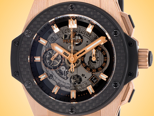 Hublot King Power UNICO Automatic Chronograph 18K Rose Gold Men's Watch 701.OQ.0180.RX