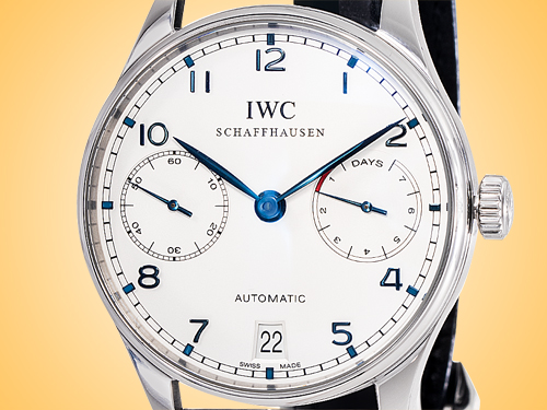 IWC Portuguese 7-Day Power Reserve Automatic Stainless Steel Men's Watch IW5001-07