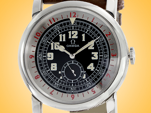 Omega Specialities 1938 Series Museum Pilot Limited-edition Automatic Men's Stainless Steel Watch 5700.50.07