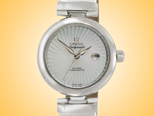 Omega DeVille Ladymatic Co-Axial Ladies Automatic Stainless Steel Watch 425.33.34.20.05.001