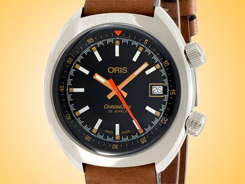 Oris Chronoris Movember Edition 2019 Automatic Stainless Steel Men's Watch 01 733 7737 4034LS-Set