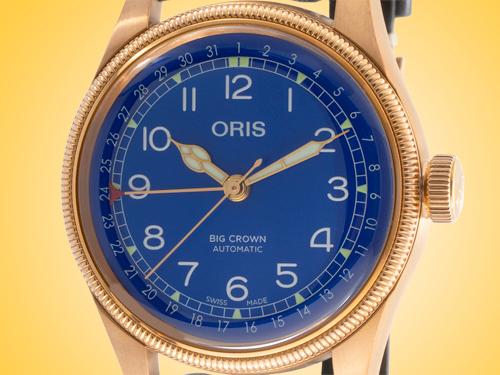 Oris Mare Nostrum Big Crown Automatic Bronze Men's Watch 01 754 7741 3185-SET