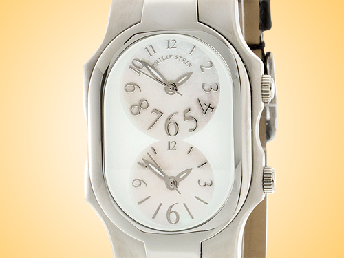 Philip Stein Teslar Signature Series Stainless Steel Quartz Watch 1-F-FSMOP-LB