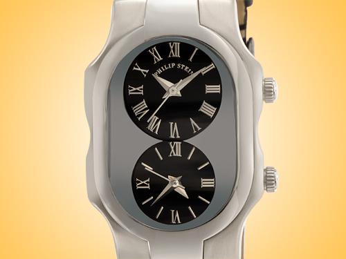 Philip Stein Teslar Signature Series Stainless Steel Quartz Ladies Watch 1-G-CB-CB