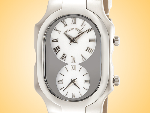 Philip Stein Teslar Signature Series Stainless Steel Quartz Watch 2-G-CW-RWP