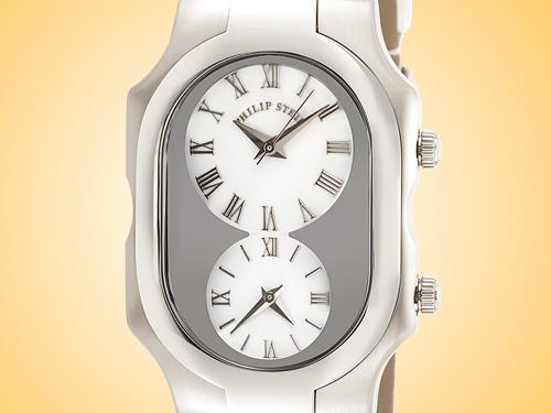 Philip Stein Teslar Signature Series Stainless Steel Quartz Watch 2-G-CW-CPW