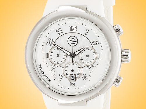 Philip Stein Active Stainless Steel Quartz Chronograph Watch 32-AW-RW