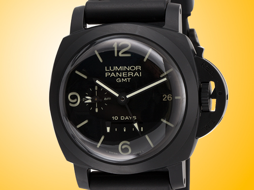 Officine Panerai Luminor 1950 GMT 10 Days Ceramica Men's Automatic Watch PAM00335