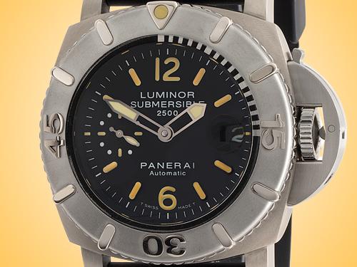 Officine Panerai Luminor Submersible 2500m Automatic Titanium Men's Watch PAM00194