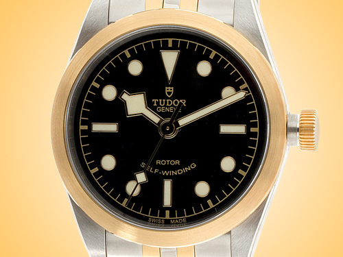 Tudor Black Bay 32 S&G Automatic 18K Yellow Gold / Stainless Steel Ladies Watch M79583-0001