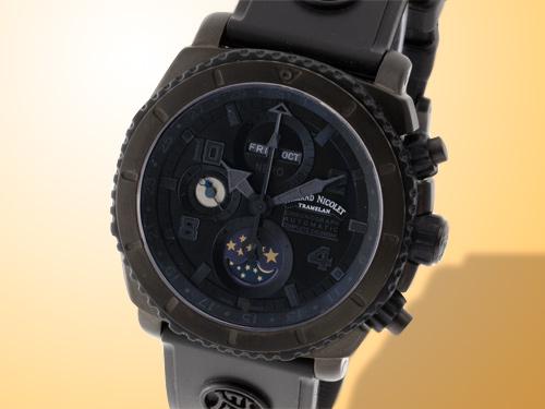 Armand Nicolet S05 Complete Calendar Chronograph Phantom Titanium Watch T618N-NR-G9610