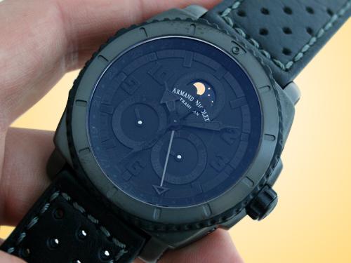 Armand Nicolet S05 Complete Calendar Phantom Titanium Watch T612N-NR-P160NG4