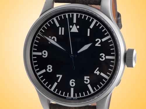 Azimuth Militare Vintage B-Uhr 55mm Black Dial Men's Watch