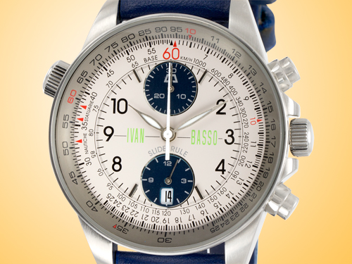 Anonimo Slide Rule Ivan Basso Automatic Chronograph Stainless Steel Men's Watch Model 3003