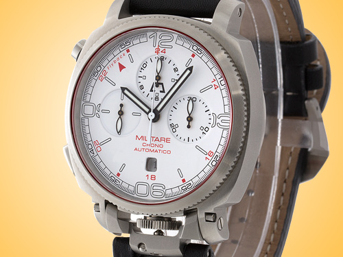 Anonimo Militare Automatic Flyback Chronograph Stainless Steel Men's Watch Model 2016