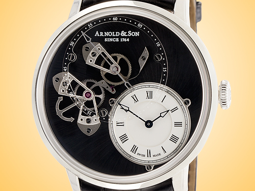 Arnold & Son Instrument Collection Dial Side True Beat (DSTB) Limited-edition Stainless Steel Men's Automatic Watch 1ATAS.S02A.C121S