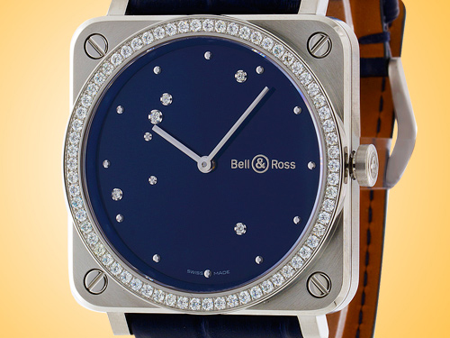 Bell & Ross BR S Diamond Eagle Diamonds Stainless Steel Ladies Watch BRS-EA-ST-LGD/SCR