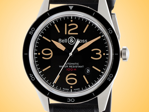 Bell & Ross BR 123 Sport Heritage Men's Stainless Steel Automatic Watch
