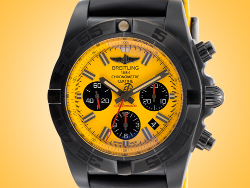 Breitling Chronomat 44 Automatic Blacksteel Special Series Men's Watch MB0111C3/I531-262S