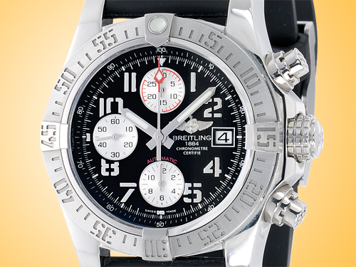 Breitling Avenger II Automatic Chronograph Stainless Steel Men�s Watch A1338111-BC33-152S