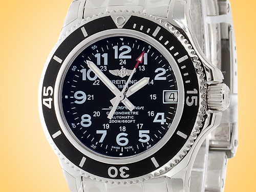 Breitling Superocean II 36 mm Midsize Stainless Steel Automatic Watch A17312C9/BD91-179A