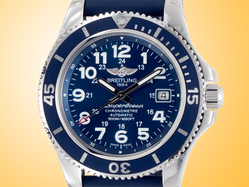 Breitling Superocean II 42 Stainless Steel Men�s Watch A17365D1/C915-229S