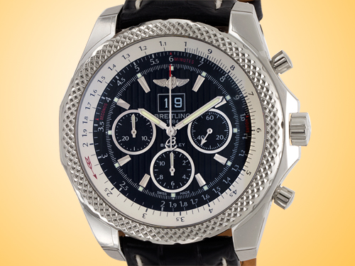 Breitling Bentley 6.75 Men's Automatic Stainless Steel Chronograph Watch A4436412/BE17-760P