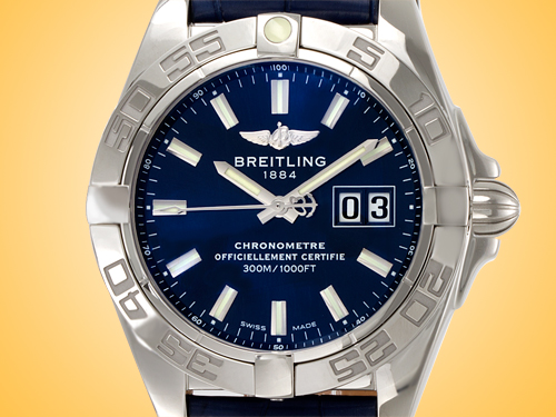 Breitling Galactic 41 Men's Automatic Stainless Steel Watch A49350L2/C929-719P