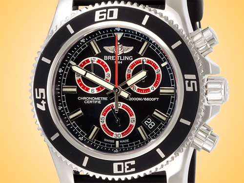 Breitling Superocean M2000 Chronograph Men's Stainless Steel Watch A73310A8/BB72-154S