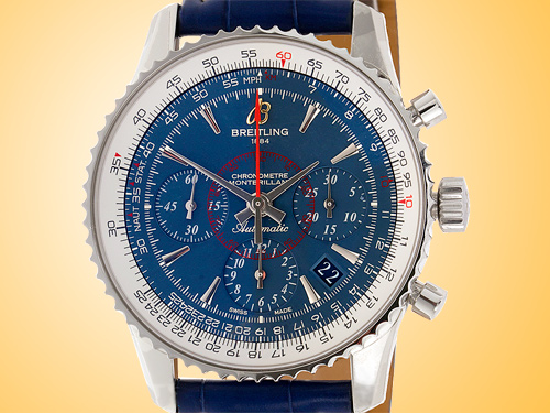 Breitling Montbrillant 01 Automatic Chronograph Stainless Steel Men�s Watch AB0130C5/C894-719P