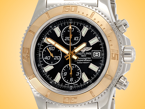 Breitling Superocean Chronongraph II Men's Automatic Stainless Steel Watch C1334112/BA84-163A