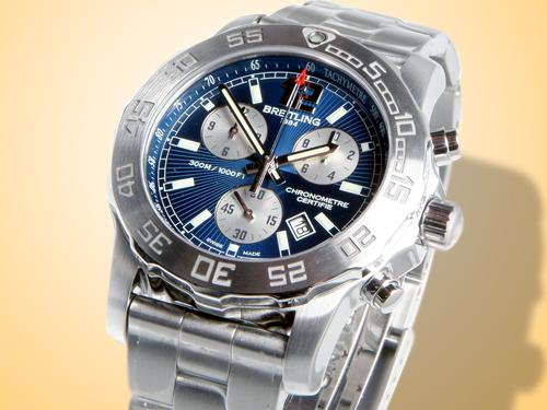 Breitling Aeromarine Colt Chronograph II Stainless Steel Watch